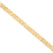 9 K Yellow Gold Large Anchor Chain 22 Rrp Andpound2490 {b31_22_a} Uk Hallmark  ...