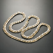 9 K Yellow Gold Large Anchor Chain 22 Rrp Andpound2460 {b31_22_a} Uk Hallmark  ...
