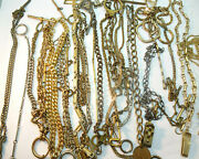 Pocket Watch 1897 Antique And Vintage Chain Fobs T Bars For Restoration Parts