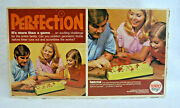 1973 Perfection Game No. 4000 By Reed Toys Working Vintage S9623