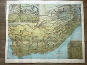 Birds Eye View Of South Africa Bacon's No8 Map