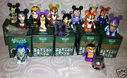 Disney Vinylmation 3 Villains 2 Set Of 11 + Mother Gothel Chaser + Variant New