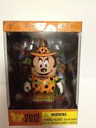 Disney Vinylmation 3 Halloween 2012 Witch Minnie Mouse Mickey New Sealed Box