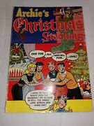 Rare 1954 Archie's Christmas Stocking 1 Giant 25¢nice Conditionno Writing