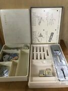 Vintage Sears Kenmore Sewing Machine Accessories Boxes And Buttonholder ----36