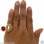 Poison Pill Ring 18k Yg Hinged Compartment To Hold Your Secret Stash Vintage