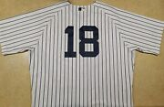 2011 Andruw Jones Game Used New York Yankees Jersey Mlb Holo Japan Braves