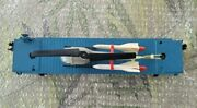 Lionel 6820 Aerial Missle Transport Car With Helicopter And Missiles