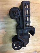 Cast Iron Toy Truck/tow Truck