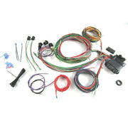 Universal 12 Circuit Wiring Harness Street For Rod Hot Rod Rat Rod Spade Fuses