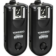 Yongnuo Rf-603c Ii 2.4ghz Wireless Flash Trigger Remote Receiver For Canon