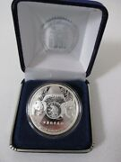 2016 Ana Official Silver Panda 125th Anniversary 1 Troy Ounce .999 Silver