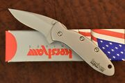 Kershaw Made In Usa Chive Speedsafe Ken Onion Knife 1600 Silver Nice 8788
