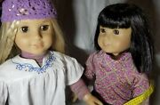 Julie And Ivy Dolls Manufactured In 2007 American Girl Doll Book Set Lot Friends