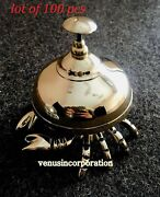 Vintage Brass Crab Table Bell Ornate Hotel Calling Office Bell Lot Of 100 Pcs