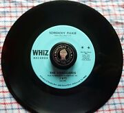 The Vanguards Somebody Please / I Can't Use You Girl - Whiz Records 612