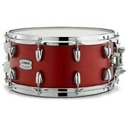 Yamaha Tour Custom Maple Snare Drum 14 X 6.5 In. Candy Apple Satin