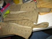 Wwii World War Two Gaiters Spats Leggings Antique Military Field Gear Protectors
