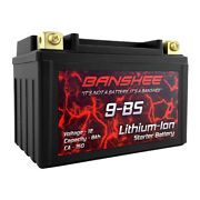 Lithium Lifepo4 9-bs Sealed Motorcycle Starter Battery