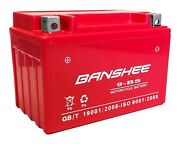 Ytx9-bs High Performance Maintenance Free Sealed Agm Motorcycle Battery Us Ship