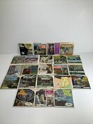 Vintage Sawyer Gaf Viewmaster Lot 22 Packets - Variety Topics All With Booklets