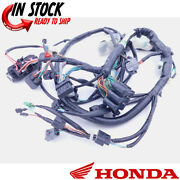 New Honda Wire Harness 2007 Rancher Trx420fe Complete Wiring Unit Oem New