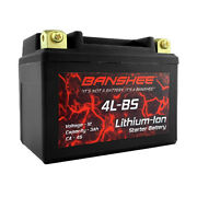 Lithium Ion 4l-bs Sealed Starter Battery