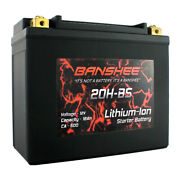 Banshee Lifepo4 Replacement For Harley Lithium Life 18ah Battery