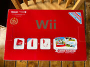 Nintendo Wii 25th Anniversary Limited Red Console Wii Sports New Super Mario