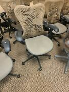 Herman Miller Mirra Tan Chair With Fully Adjustable Features 15 Available