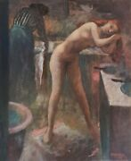 Harry Carmean Oil Painting Of Female Nude 2005