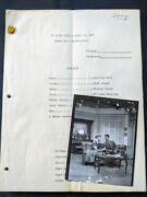 Authentic I Love Lucy Is Matchmaker Script + Contact Photo Lucille Ball Desilu
