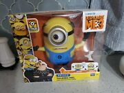 Think Way Toys Deluxe / Free Moving Eye And Arms Talking Mel Minion Htf Only 1 Nib