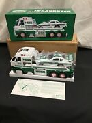 New 2016 Holiday Hess Toy Truck And Dragster Collectible Rare