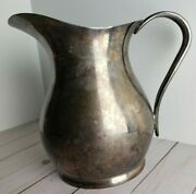 United States Navy Wwii Reed And Barton Slp 6pt. Water Pitcher 3610 1943/44 Rare