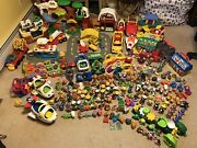 Huge Lot Fisher Price Little People Figures Toy Story Disney Princess Animals
