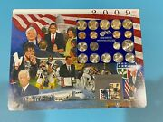 2009b Spectacular Mint Coin And Stamp Historical Set Suitable For Framing