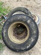 10.00 R 20 Truck Trailer Tyre Pumped Up And On 10 Stud Rims