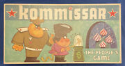 Kommissar-the Peopleand039s Board Game Selchow And Righter 1966 Cold War Ussr Vintage