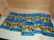 Lego Minifigures Series 2 Lot Ten 10 Count 2010 Blind Bag Factory Sealed Nos