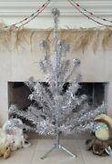 Vintage Pom Aluminum Christmas Tree 4and039 41 Branches