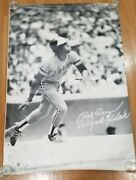 Extra Large 1978 Sports Illustrated Poster Rod Carew Minnesota Twins Team Office