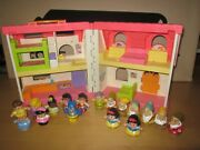 Little People Music And Sound Play Family House W/ Disney Snow White And Super Hero