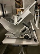 Commercial Bizerba Manual Meat And Cheese Slicer Restaurant Equipment.