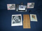 Vintages Polaroid Colorpack Ii Land Camera With Manual 1969 Used