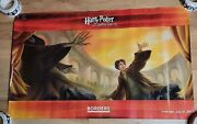 Harry Potter Borders Poster 2007 22x36 Deathly Hallows Book