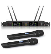 Cordless Mic Set For Shure Wireless Microphone Uhf True Diversity Stage Mike