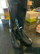 Mudd Women's Heel Boots, Black Smooth, Size 10m, Very Lightly Worn, No Flaws