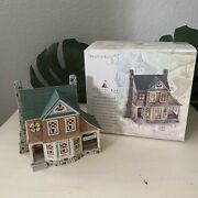 Dept. 56 Seasons Bay The Side Porch Cafe 1st Edition Lighted House Village Euc