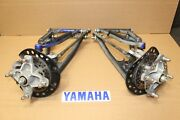 06-12 Yamaha Raptor 700 Yfz 450 Front A Arms Spindles Brakes Complete
